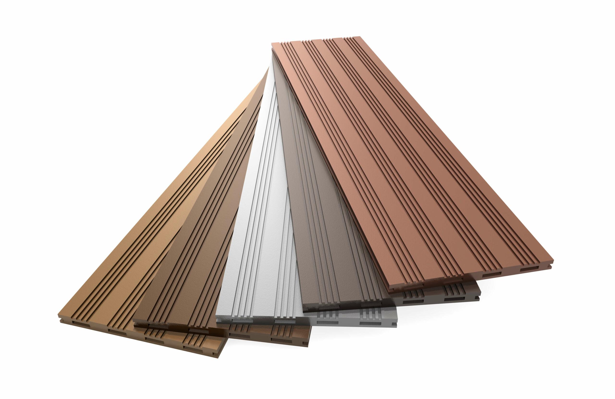 Oberflächen und Profile WPC Terrassen