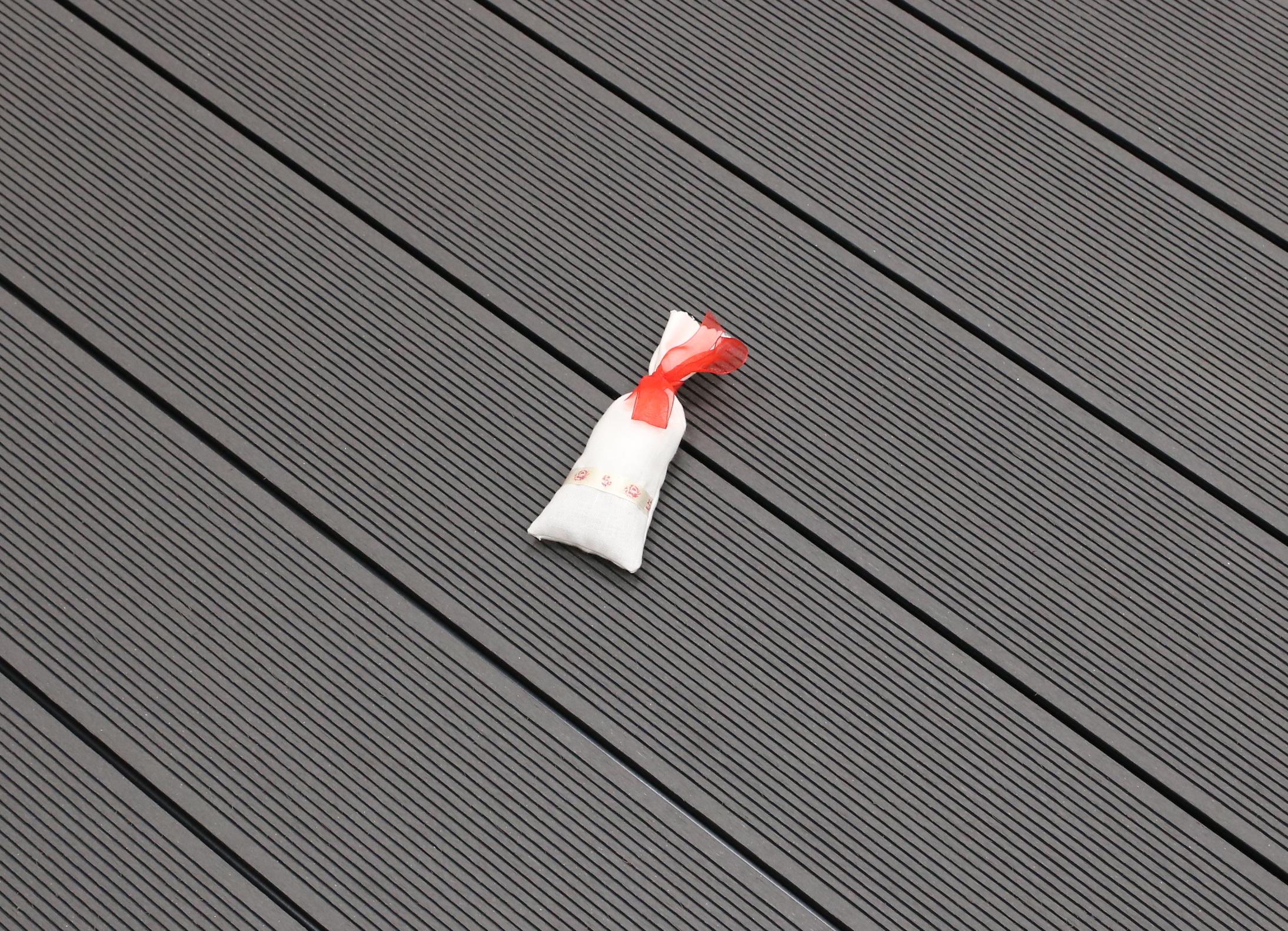 WPC Terrasse Hohlkammer, dunkelgrau, Oberfläche fein gerillt, 22 x 146 bis 4800 mm 5,30 €/lfm