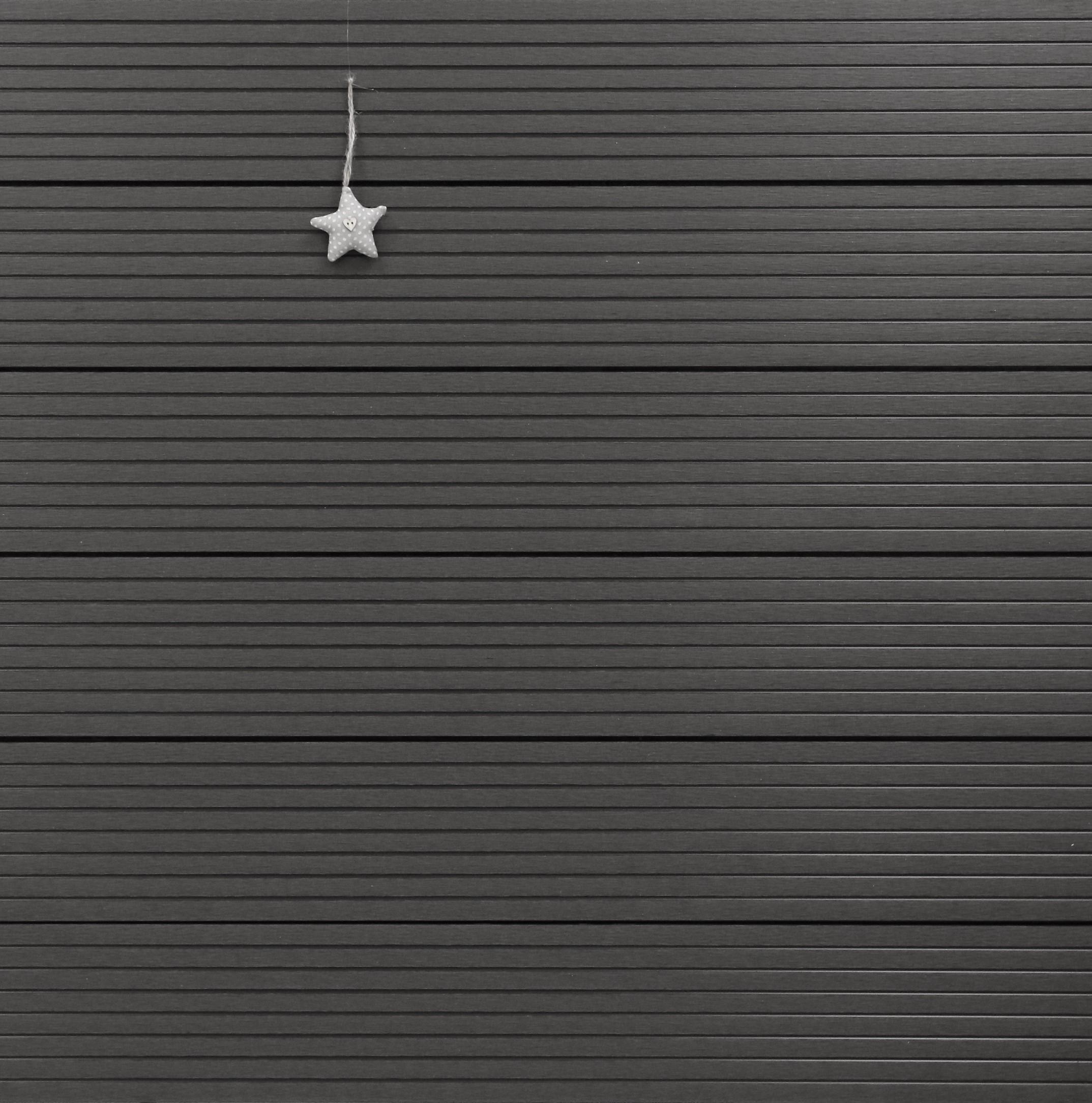 WPC Terrasse Hohlkammer, dunkelgrau, Oberfläche grob genutet, 22 x 146 bis 4800 mm 5,30 €/lfm